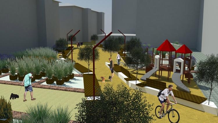 Propuesta de Rehabilitación de la Plaza Matute, Durango