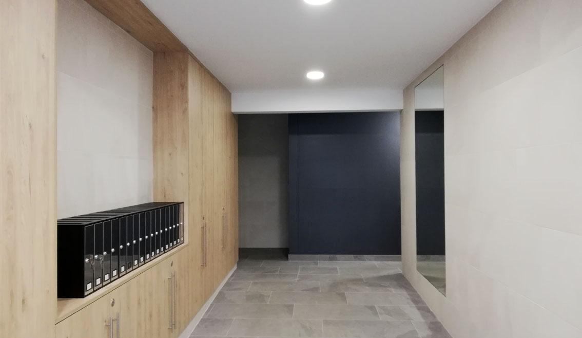 Instalación de Ascensor en C/ Inzunza, Lemoa
